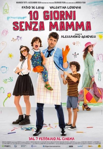Cinema Politeama - locandina 10 giorni senza mamma