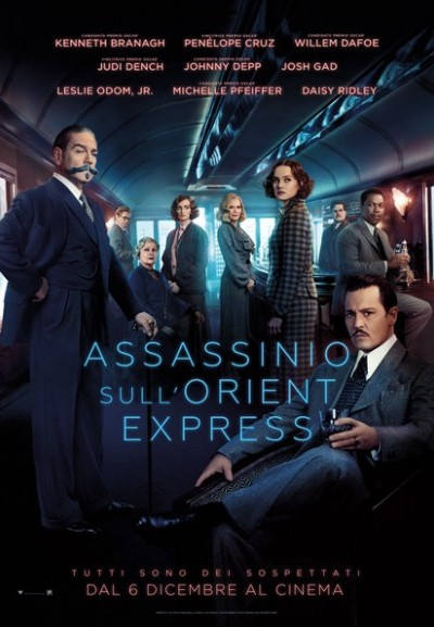 Cinema Politeama - locandina Assassinio sull'Orient Express