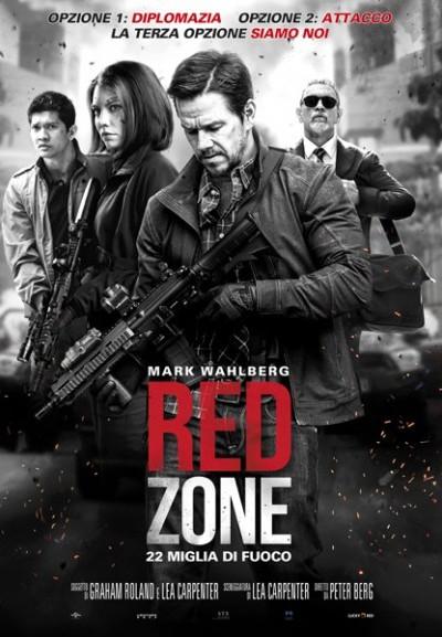 Cinema Politeama - locandina Red Zone - 22 miglia di fuoco