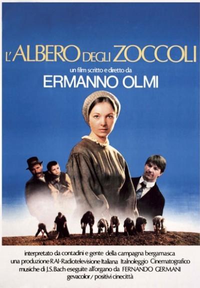 Cinema Politeama - locandina L'albero degli zoccoli