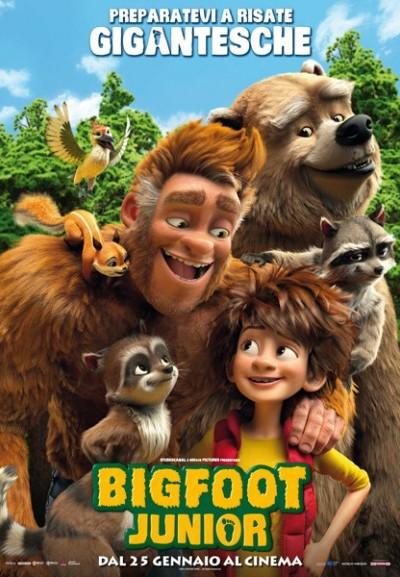 Cinema Politeama - locandina Bigfoot Junior