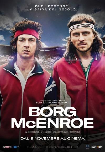 Cinema Politeama - locandina Borg McEnroe