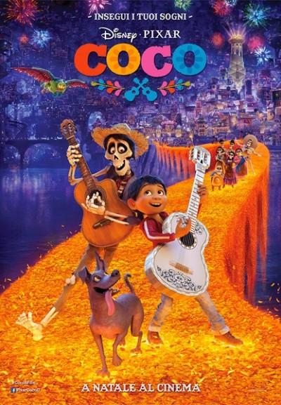 Cinema Politeama - locandina Coco