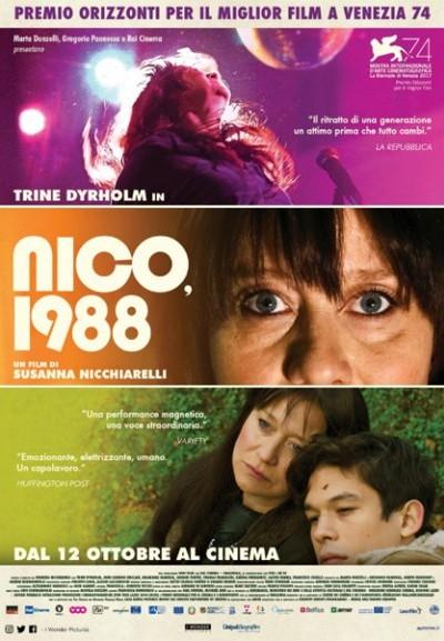 Cinema Politeama - locandina Nico 1988