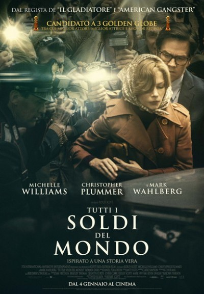 Cinema Politeama - locandina Tutti i soldi del mondo
